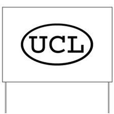 UCL Oval Yard Sign