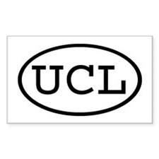 UCL Oval Rectangle Sticker 10 pk)