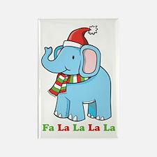 Fa La La La La Elephant Rectangle Magnet