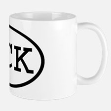 UCK Oval Mug