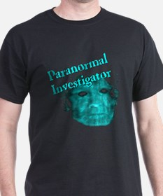 """Paranormal Investigator w/Image"" T-Shirt"