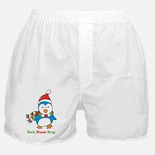 Bah Hum Bug Penguin Boxer Shorts