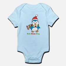 Bah Hum Bug Penguin Infant Bodysuit