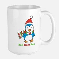 Bah Hum Bug Penguin Large Mug