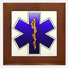 Star of Life(EMS) Framed Tile