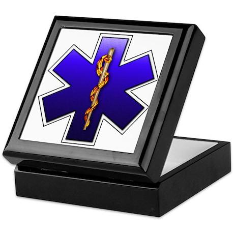Star of Life(EMS) Keepsake Box