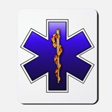 Star of Life(EMS) Mousepad