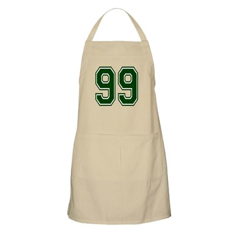 NUMBER 99 FRONT BBQ Apron