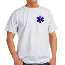 Star of Life(EMS) Ash Grey T-Shirt