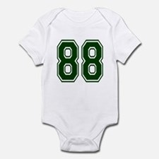 NUMBER 88 FRONT Infant Bodysuit