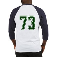 NUMBER 73 BACK Baseball Jersey