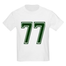 NUMBER 77 FRONT T-Shirt