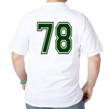 NUMBER 78 BACK T-Shirt