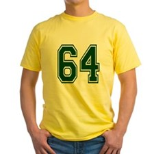 NUMBER 64 FRONT T
