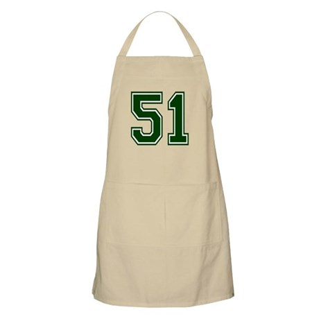 NUMBER 51 FRONT BBQ Apron