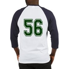 NUMBER 56 BACK Baseball Jersey