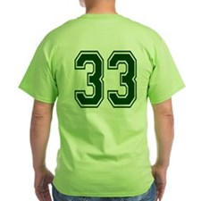 NUMBER 33 BACK T-Shirt