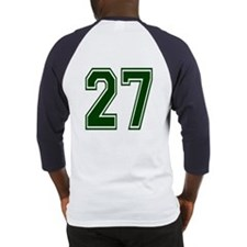 NUMBER 27 BACK Baseball Jersey