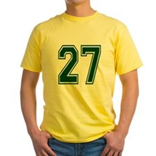 NUMBER 27 FRONT T