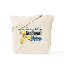 I'm Here to Pick up My Husban Tote Bag