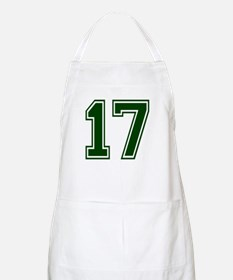 NUMBER 17 FRONT BBQ Apron