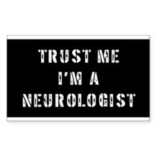 Neurologist Gift Rectangle Decal