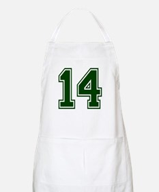 NUMBER 14 FRONT BBQ Apron