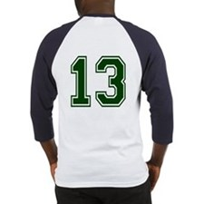 NUMBER 13 BACK Baseball Jersey