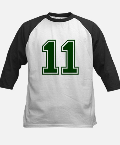 NUMBER 11 FRONT Kids Baseball Jersey