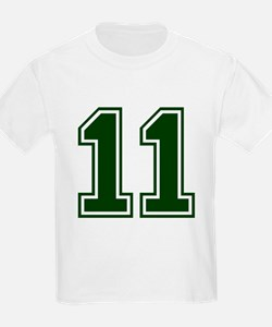 NUMBER 11 FRONT T-Shirt