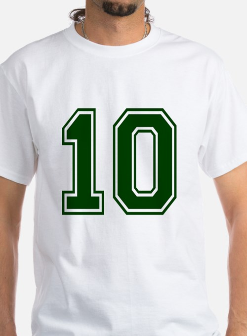 NUMBER 10 FRONT Shirt