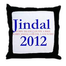 Bobby Jindal for President 20 Throw Pillow