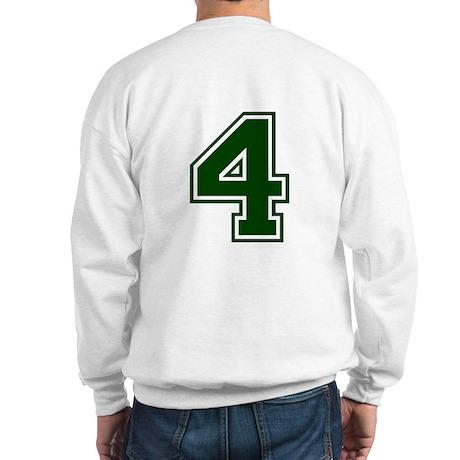 NUMBER 4 BACK Sweatshirt