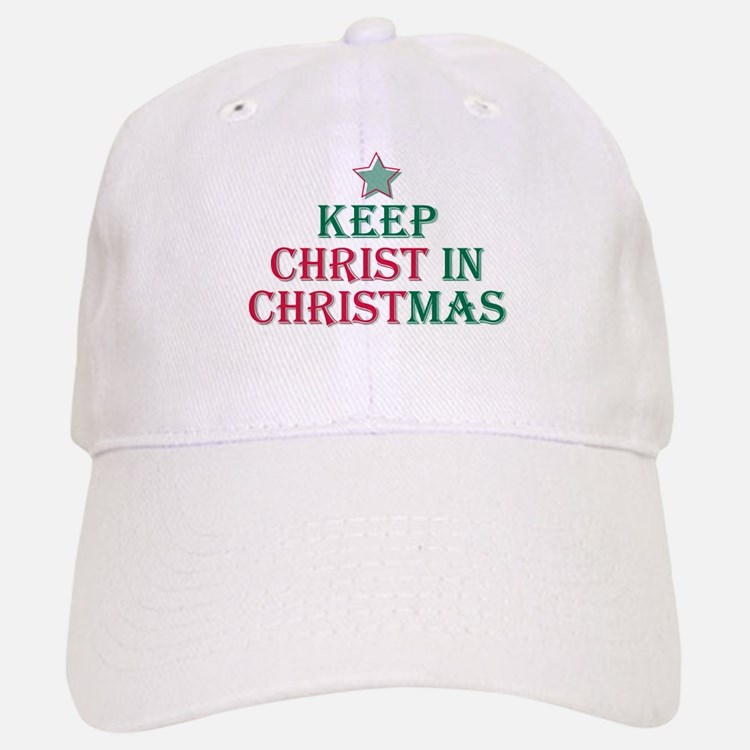 Keep Christ star Baseball Baseball Cap