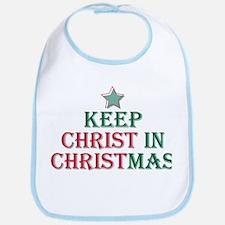 Keep Christ star Bib