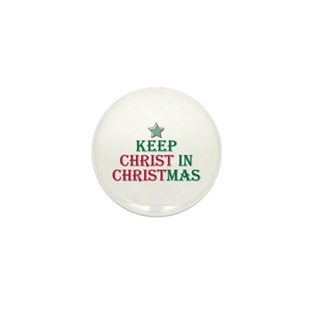 Keep Christ star Mini Button (100 pack)