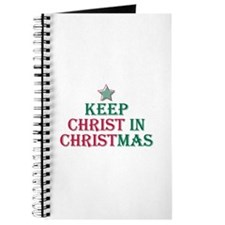 Keep Christ star Journal