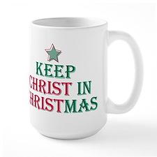 Keep Christ star Mug