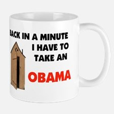 OBAMA IS FULL OF IT ! Mug