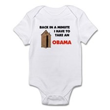 OBAMA IS FULL OF IT ! Infant Bodysuit