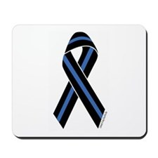 Police Vets Ribbon Mousepad