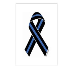 Police Vets Ribbon Postcards (Package of 8)