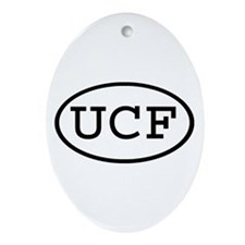 UCF Oval Oval Ornament