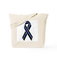 Police Vets Ribbon Tote Bag
