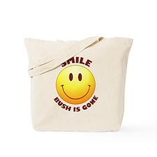 SMILE! Bush is gone Tote Bag
