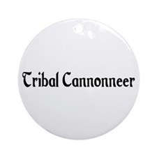 Tribal Cannonneer Ornament (Round)