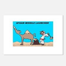 Afgan Missle Launcher Postcards (Package of 8)