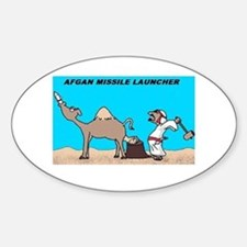 Afgan Missle Launcher Oval Decal