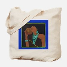 New Mexico Pueblo Woman Tote Bag