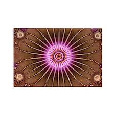 """New Year"" Fractal Art Rectangle Magnet (10 pack)"